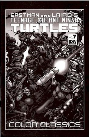 Teenage Mutant Ninja Turtles Color Classics  7-B by IDW