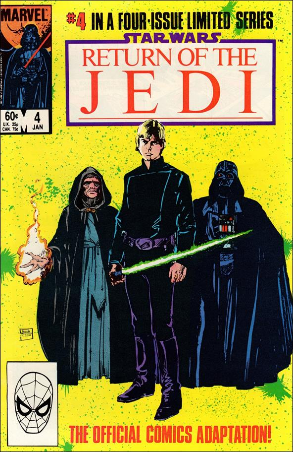 Star Wars: Return of the Jedi 4-A by Marvel