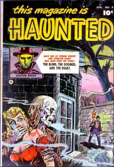 This Magazine is Haunted (1951) 4-A by Fawcett