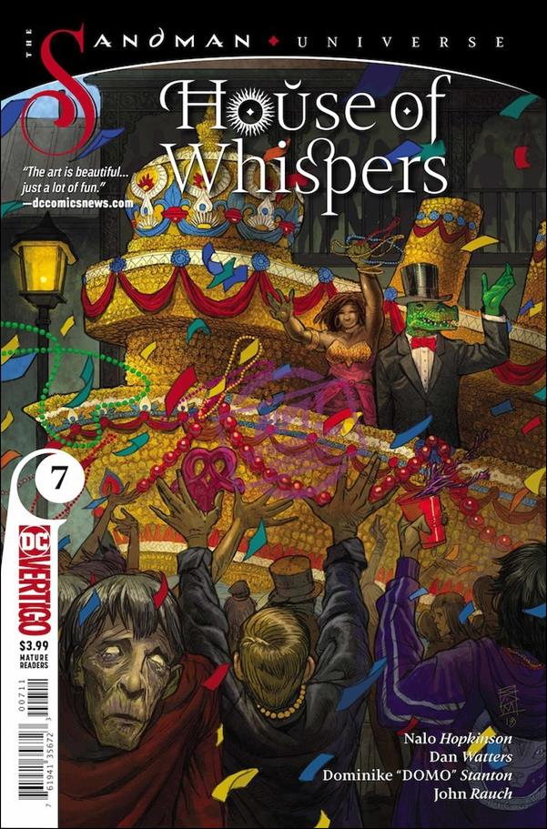 House of Whispers 7-A by Vertigo