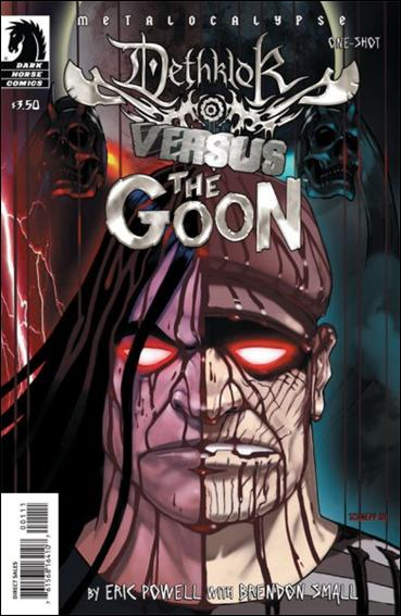 Dethklok Versus The Goon nn-B by Dark Horse