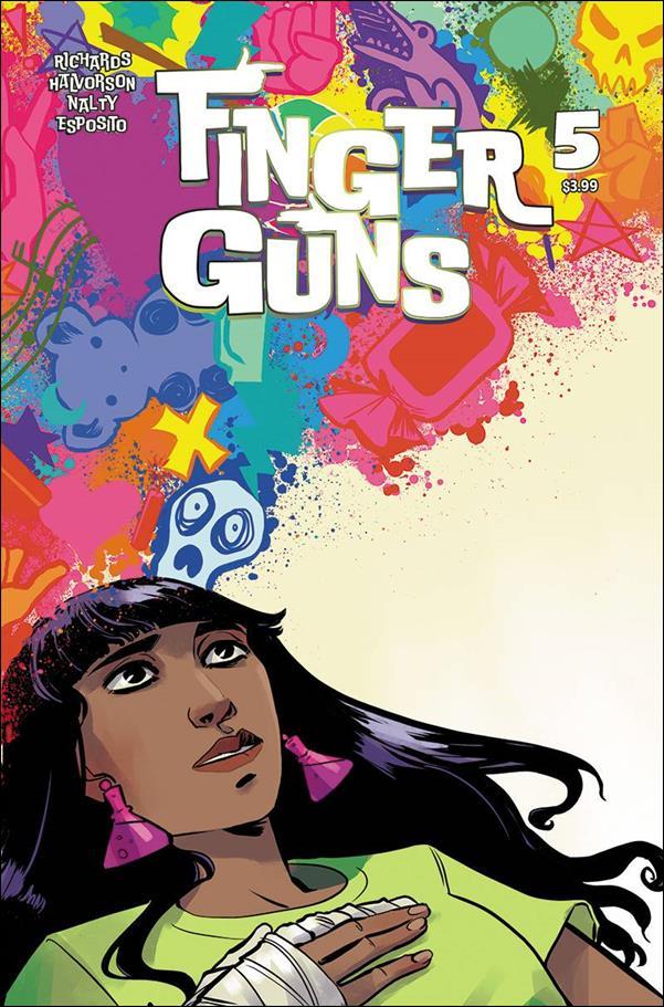 Finger Guns 5-B by Vault Comics