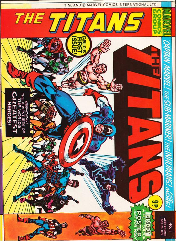 Titans (UK) 1-A by Marvel UK