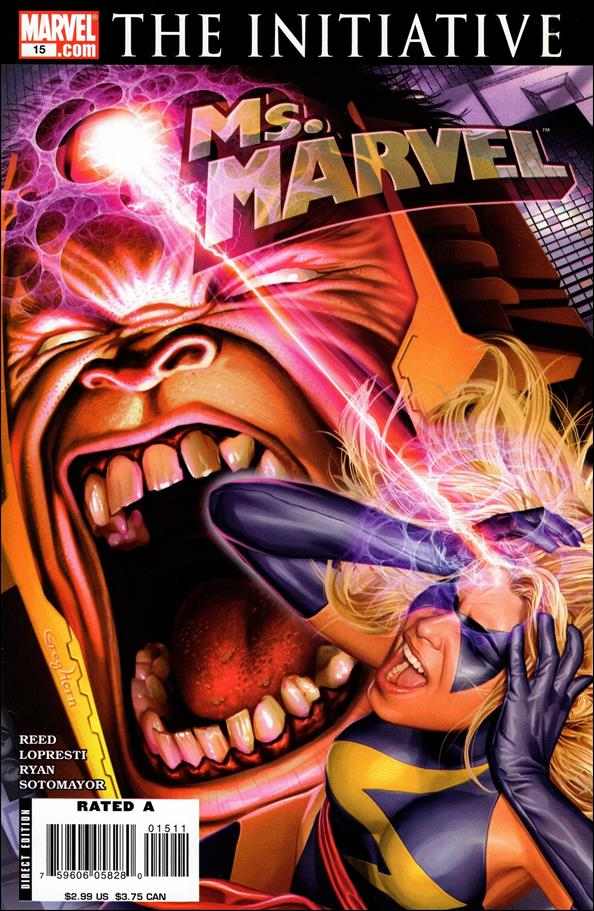 Ms. Marvel (2006) 15-A by Marvel