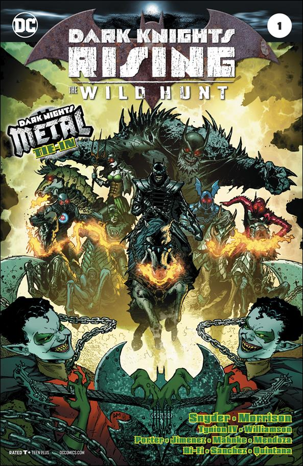 Dark Knights Rising: The Wild Hunt 1-A by DC