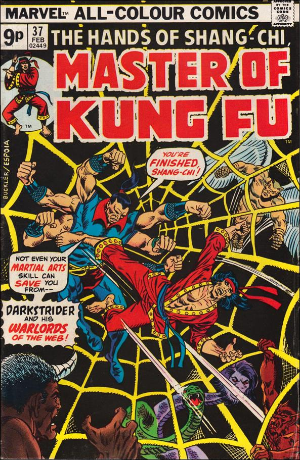 Master of Kung Fu 37-B by Marvel