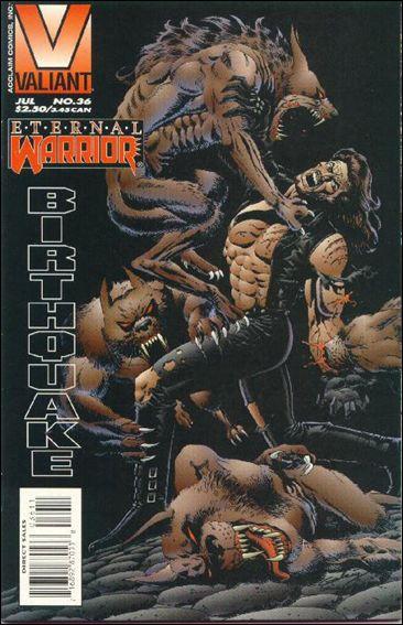 Eternal Warrior (1992) 36-A by Valiant