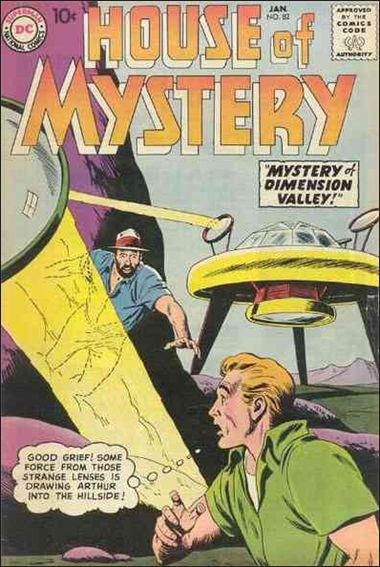 House of Mystery (1951) 82-A by DC