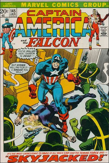 Captain America (1968) 145-A by Marvel