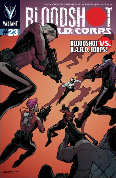 Bloodshot and H.A.R.D.Corps 23-A by Valiant Entertainment