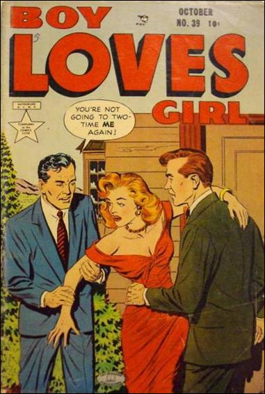 Boy Loves Girl 39-A by Lev Gleason Productions