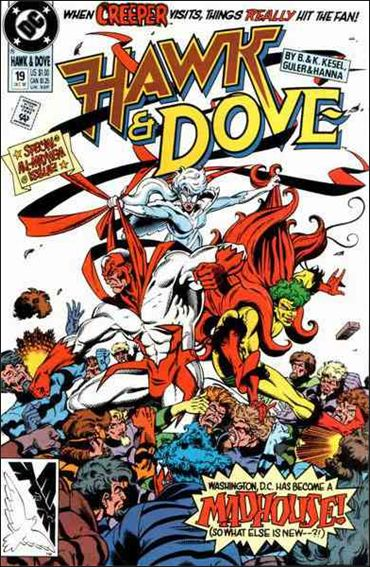 Hawk and Dove (1989) 19-A by DC