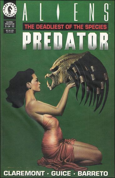 Aliens/Predator: The Deadliest of the Species 3-A by Dark Horse