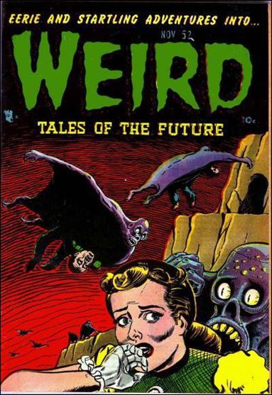 Weird Tales of the Future 4-A by Aragon Publishing
