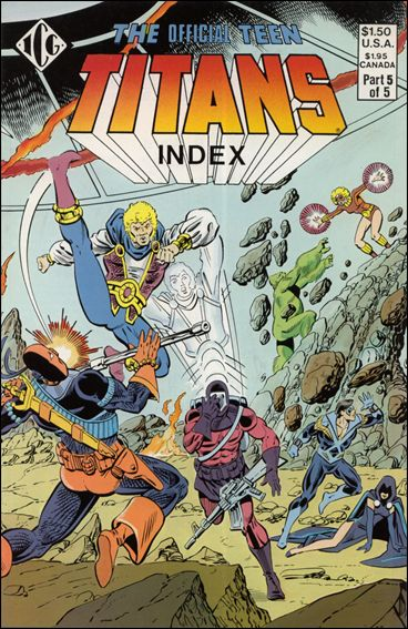 Official Teen Titans Index 5-A by ICG