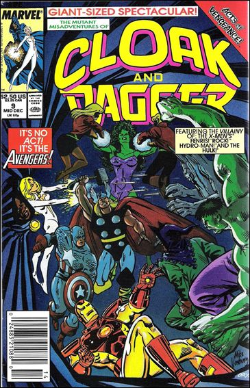 Mutant Misadventures of Cloak and Dagger 9-A by Marvel