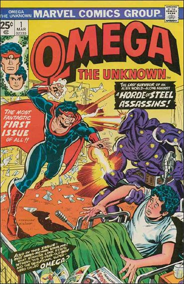 Omega: The Unknown (1976) 1-A by Marvel