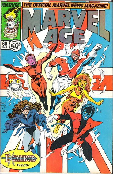Marvel Age 60-A by Marvel