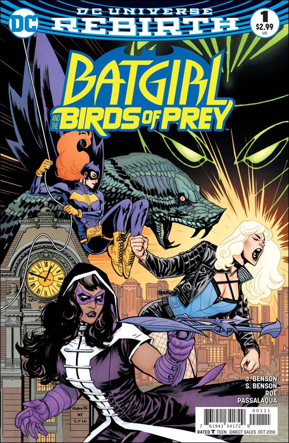 Batgirl & The Birds of Prey 1-A by DC