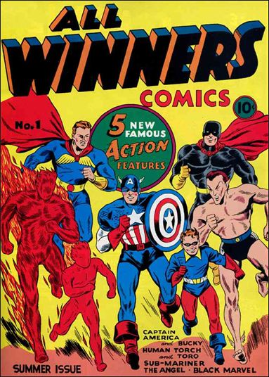 All-Winners Comics (1941) 1-A by Marvel