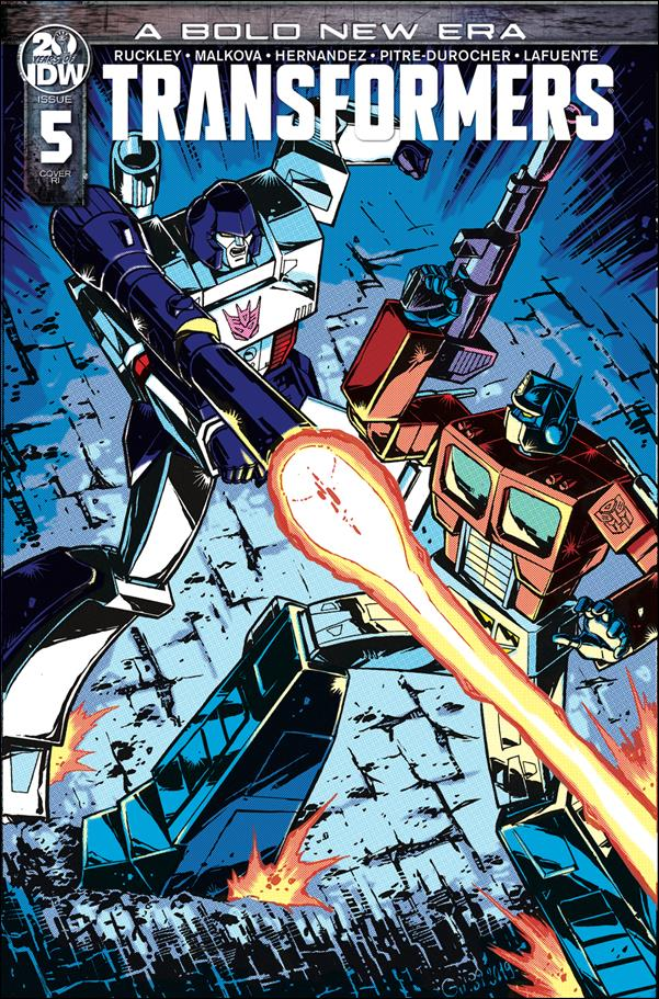 Transformers (2019) 5-C by IDW