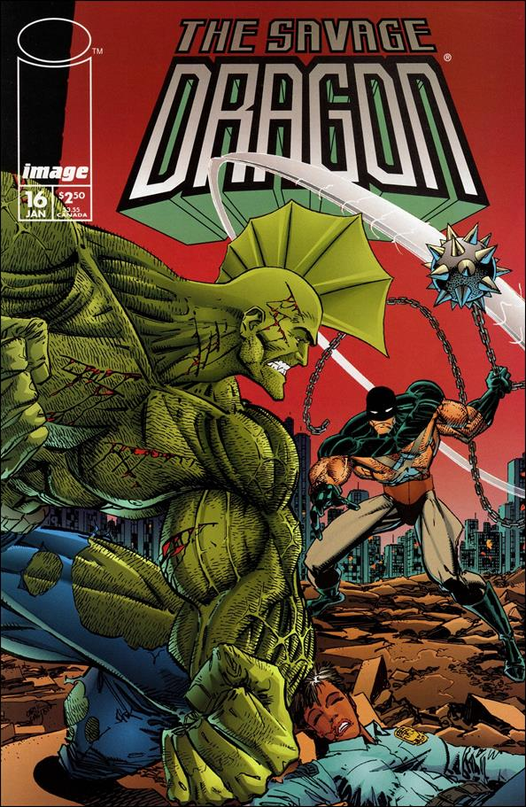Savage Dragon (1993) 16-A by Image