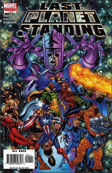 Last Planet Standing 1-A by Marvel