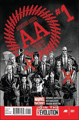 Avengers Arena 1-A