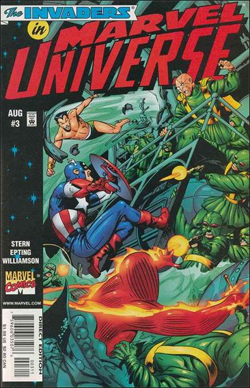 Marvel Universe 3-A by Marvel