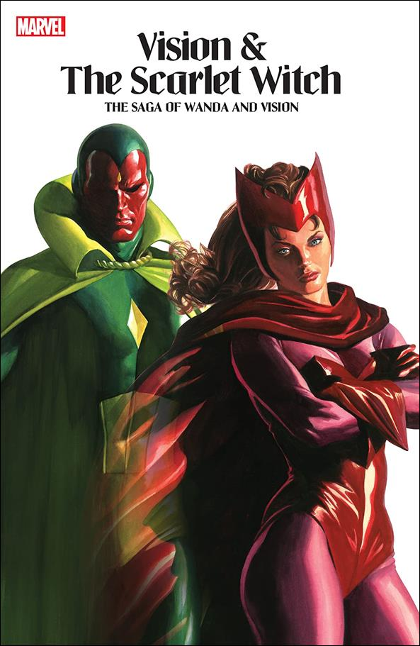 Vision and the Scarlet Witch: The Saga of Wanda and the Vision nn-A by Marvel