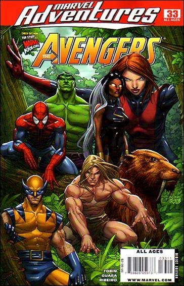 Marvel Adventures The Avengers 33-A by Marvel