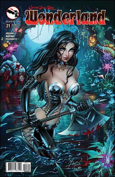 Grimm Fairy Tales Presents Wonderland 21-A by Zenescope Entertainment