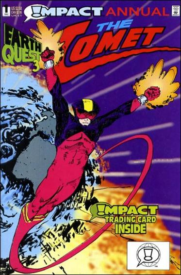 Comet Annual 1-A by Impact Comics