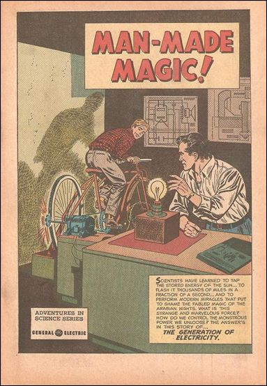 Man Made Magic 1-A by General Electric