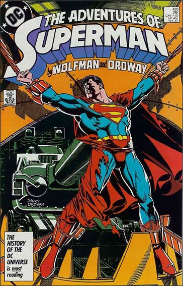 Adventures of Superman (1987) 425-A by DC