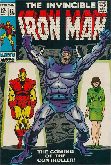 Iron Man (1968) 12-A by Marvel