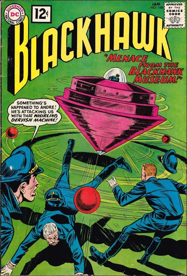 Blackhawk (1944) 168-A by DC