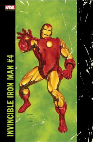 Invincible Iron Man (2017) 4-B