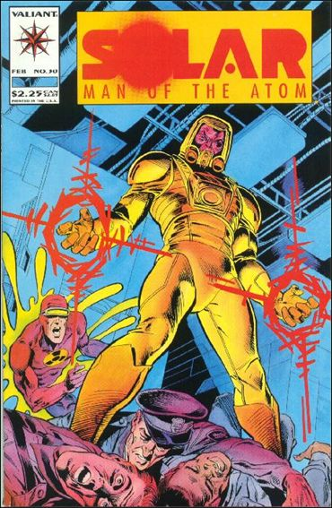 Solar, Man of the Atom (1991) 30-A by Valiant