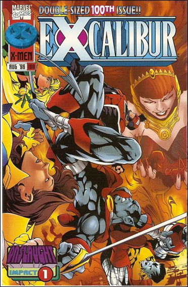 Excalibur (1988) 100-B by Marvel