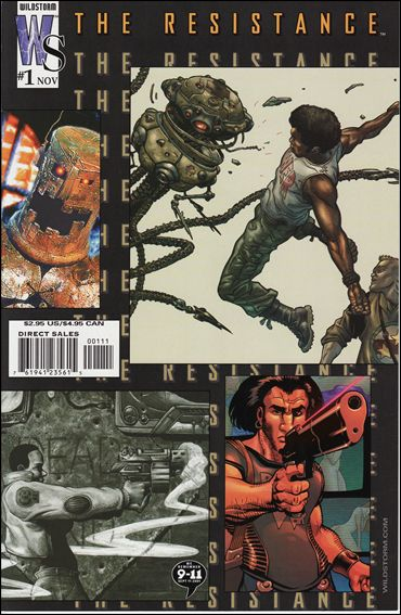 Resistance (2002) 1-A by WildStorm