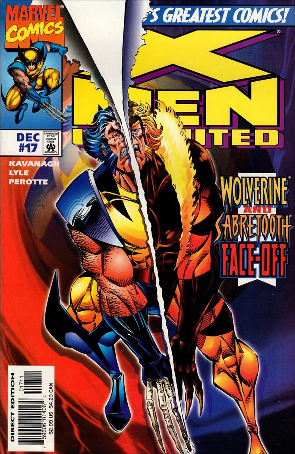 X-Men Unlimited (1993) 17-A by Marvel