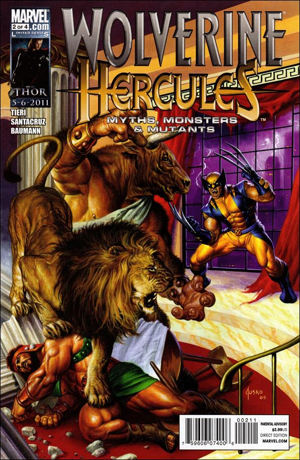 Wolverine/Hercules: Myths, Monsters & Mutants 2-A by Marvel