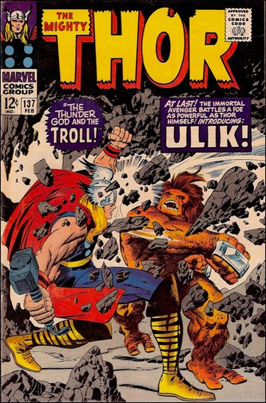 Thor (1966) 137-A by Marvel