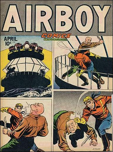Airboy Comics (1948) 3-A by Hillman