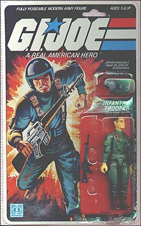 "G.I. Joe: A Real American Hero 3 3/4"" Basic Action Figures Grunt (Infantry Trooper)"