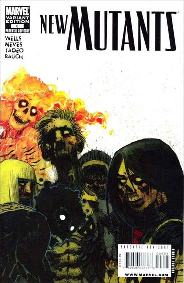 New Mutants (2009) 6-B by Marvel