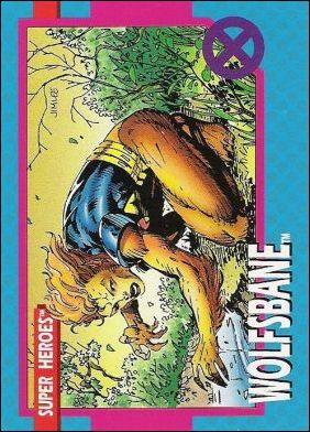 X-Men: Series 1 (Base Set) 8-A by Impel