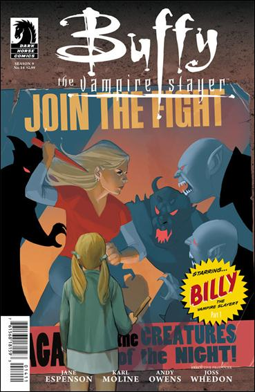 Buffy the Vampire Slayer Season 9 14-A by Dark Horse