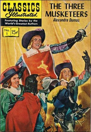 Classic Comics/Classics Illustrated 1-M